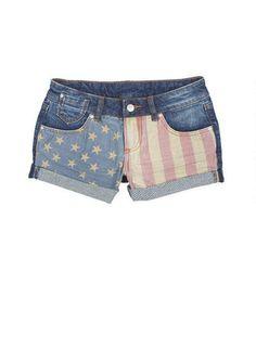 stars and stripes shorts