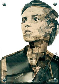 Obsolete Media Artworks by Nick Gentry | Inspiration Grid | Design Inspiration