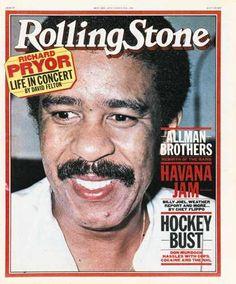 Richard Pryor Magazine Cover Photos - List of magazine covers ...