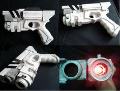 River Song gun, Dr Who Prop by Hordriss.deviantart.com on @deviantART