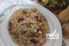 Kestaneli Tavuklu Pilav Tarifi 2 Turkish Recipes, Risotto, Side Dishes, Grains, Baking, Eat, Food, Hotels, Search