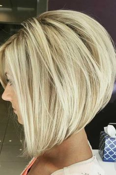 Inverted Bob Hairstyles, Long Bob Haircuts, Medium Bob Hairstyles, Short Stacked Bob Haircuts, Short Stacked Bobs, Modern Bob Hairstyles, Thin Hairstyles, Hairstyle Short, School Hairstyles