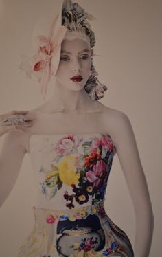 ❀ Flower Maiden Fantasy ❀ beautiful art fashion photography of women and flowers - Tim Walker