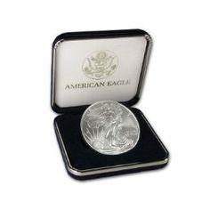 2008 1 oz Silver American Eagle Coin in U.S. Mint Box AMERICAN_2008_SILVER_EAGLE_1_OZ_USMINT_BOX - $59.77