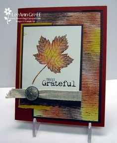 Control Freaks Fall Tour  Magnificent Maple & Truly Grateful from Flowerbug's Inkspot