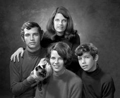 When taking a family photo, never forget the cat (1970). | Florida Memory