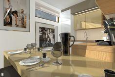 Kuchnia styl Minimalistyczny - zdjęcie od ABC Pracownia Projektowa Bożena Nosiła - Kuchnia - Styl Minimalistyczny - ABC Pracownia Projektowa Bożena Nosiła