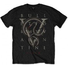 Tricou Bullet For My Valentine: V for Venom - MetalHead Merch Bullet For My Valentine, Band Tees, Venom, Tee Shirts, Short Sleeves, Metalhead, Colour Black, Mens Tops, Unisex
