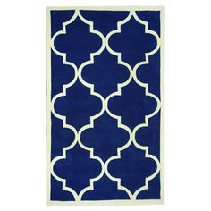 Beautiful!! Orla Rug in Pacific Blue at Joss & Main