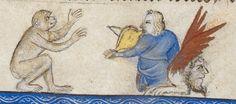 Guyard des Moulins, Bible historiale ('The Bible of John the Good') c 1350-1356 Royal MS 19 D II  Folio 273r