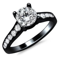 most extreme wedding rings for women | Black Wedding Rings for Women Express Your Hidden Sides