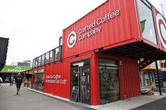 Re:START Mall: a pop-up mall made from shipping containers