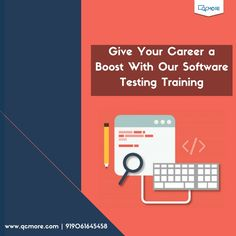 Take your career to next level with #QCMore's advanced Software testing Training course of 8 weeks. Learn more https://goo.gl/RR1s7D For Enquiry - +919061645458