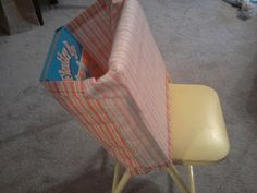 "Step-by-Step Chair Pocket Tutorial, with lots of photos - ""Easy Peasy Lemon Squeezy,"" courtesy of Hello Mrs Sykes - Resources for Teachers"