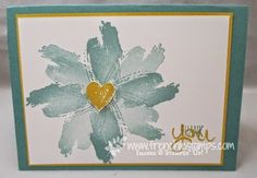 Stamp & Scrap with Frenchie: Flowers with the Work of Art
