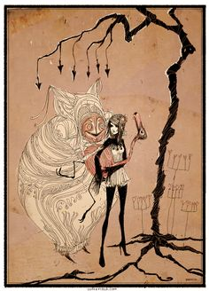 alice and the duchess by somefield.deviantart.com on @deviantART
