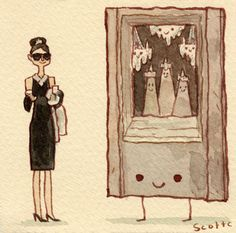 Breakfast at Tiffany's by Scott Campbell