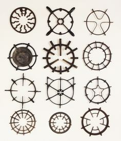 cast iron stove grates