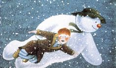 The Snowman : Raymond Briggs : My favorite Christmas time special. Best Christmas Movies, Father Christmas, All Things Christmas, Christmas Time, 1980s Christmas, Xmas Movies, Winter Things, Christmas Cartoons, Holiday Movie