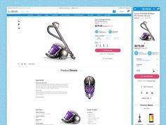Hey there, Through the years, I've spent a lot of time designing for commerce and have learned so much. Here is a visualization of a fully functional product detail page.   Of course a designer int...