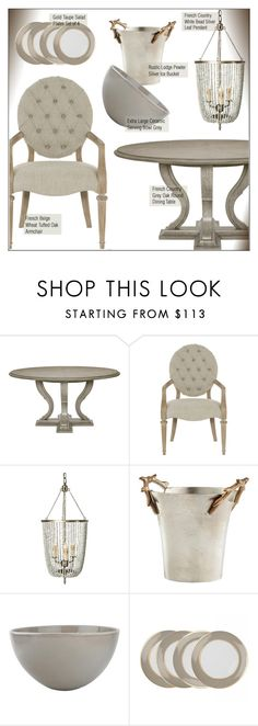 """""""Great Gatherings"""" by kathykuohome ❤ liked on Polyvore featuring interior, interiors, interior design, home, home decor, interior decorating, diningroom, homedecor, holidays and gatherings"""