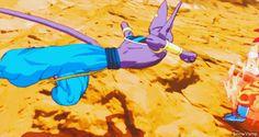 God form Goku vs. Bill