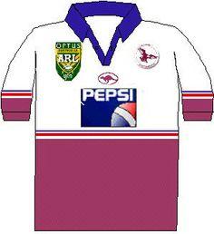 Manly-Warringah Sea Eagles Away Kit (1996)