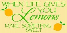 When Life Gives You Lemons Stencil - Reusable Mylar Sign Stencil - DIY stencils for wood signs