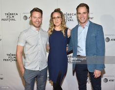 Randy Harrison,  Jenn Harris and Matthew Wilkis attends Shorts Program: 'Your Heart's Desire' during 2017 Tribeca Film Festival at Regal Cinema Battery Park on April 20, 2017 in New York City.  (Photo by Mike Coppola/Getty Images for Tribeca Film Festival)