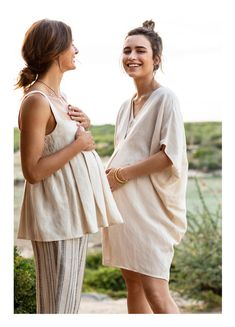 Dresses - The Nanda Dress – Linen Maternity Dress Maternity Dresses Summer, Cute Maternity Outfits, Stylish Maternity, Pregnancy Outfits, Maternity Wear, Maternity Fashion, Baby Bump Style, Mom Style, Hatch Maternity