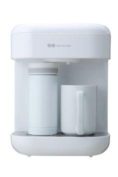 Amazon.co.jp: arobo one two style コーヒーメーカー(マグ&ボトル付)(ホワイト) CLV-232: ホーム&キッチン