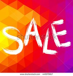 Colorful Sale Banner. - stock vector