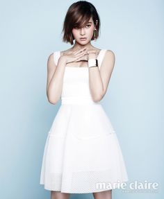 Oh Yeon Seo Marie Claire Korea Magazine April 2014