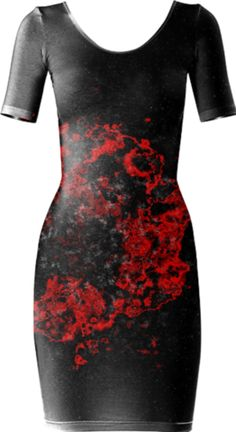 0000000P/Volcanic Bodycon Dress