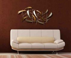 Unique Wall Decor Design Ideas For Beauty Living Room Metal Wall Art Decor, Wall Decor Design, Contemporary Wall Decor, Unique Wall Decor, Room Wall Decor, Deco Design, Wall Art Designs, Living Room Decor, Modern Wall