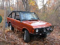Convertible Range Rover Classic, not bad...