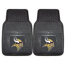 NFL - Minnesota Vikings 2-pc Vinyl Car Mat Set