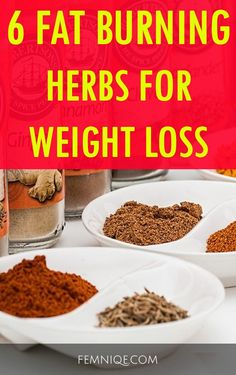 Natural Herbs For Weight Loss