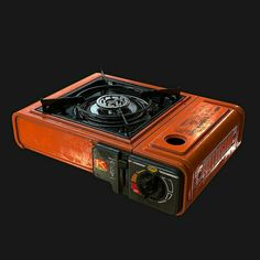 Modeling: for low poly & unwrap) Texturing: Game Props, Movie Props, Prop Design, Game Design, Best Camping Stove, Portable Stove, Cyberpunk Aesthetic, Zombie Art, Art Station