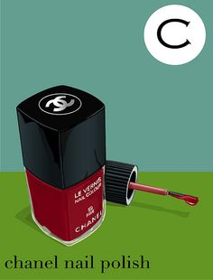 c is for chanel nail polish