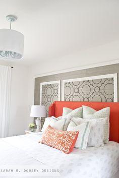sarah m. dorsey designs: Master Bedroom Tour