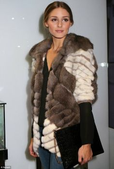 THE OLIVIA PALERMO LOOKBOOK: Olivia Palermo at Dennis Basso Store Opening in New York City