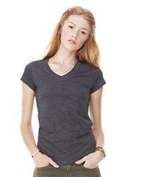 9217c0ccff4fb Bella + Canvas 6005 - Women s Short Sleeve Jersey V-Neck Tee