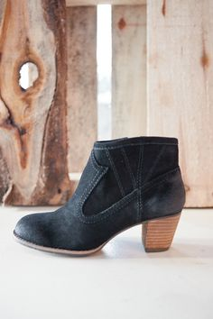 JuJu Black Ankle Boot