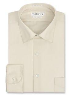 Van Heusen Ivory  ular-Fit Dress Shirt
