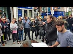 What a fantastic day on Grafton Street Dublin today the amazing asked me to sing while he played piano. this is Ed Sheeran perfect. Grafton Street, Ukulele, Guitar, For You Song, Ed Sheeran, Your Music, Sherlock, Piano, Singing
