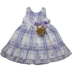 Vestido Lilás Laura Para Bebê - Beth Bebê-Feminino-2 - 18 meses