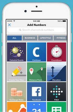 Con Numerous (Android/iOS) puedes seguir los números más importantes de tu vida personal y profesional