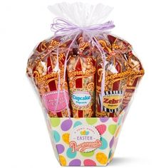 Our 2015 Easter 7-Cone Gift Basket