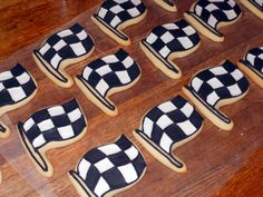 Race Flag Cookies!